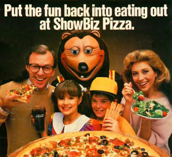 Thats Showbiz Pizza Place The Metal Misfit